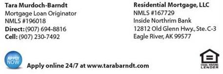 Residential Mortgage - Tara Murdoch-Barndt